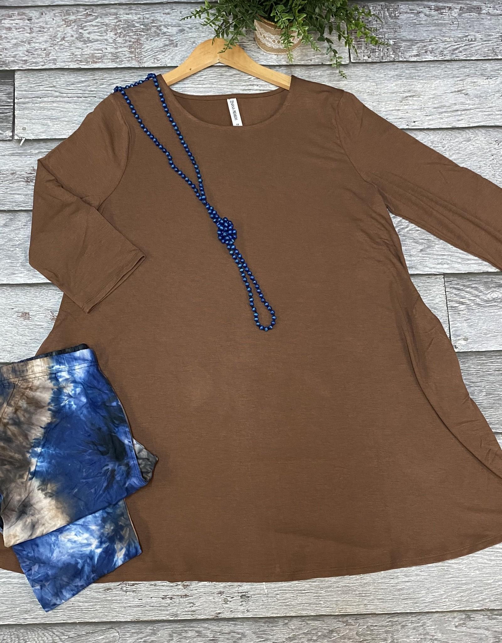 SASS Boutique Exclusive Blue/Tan Tie Dye