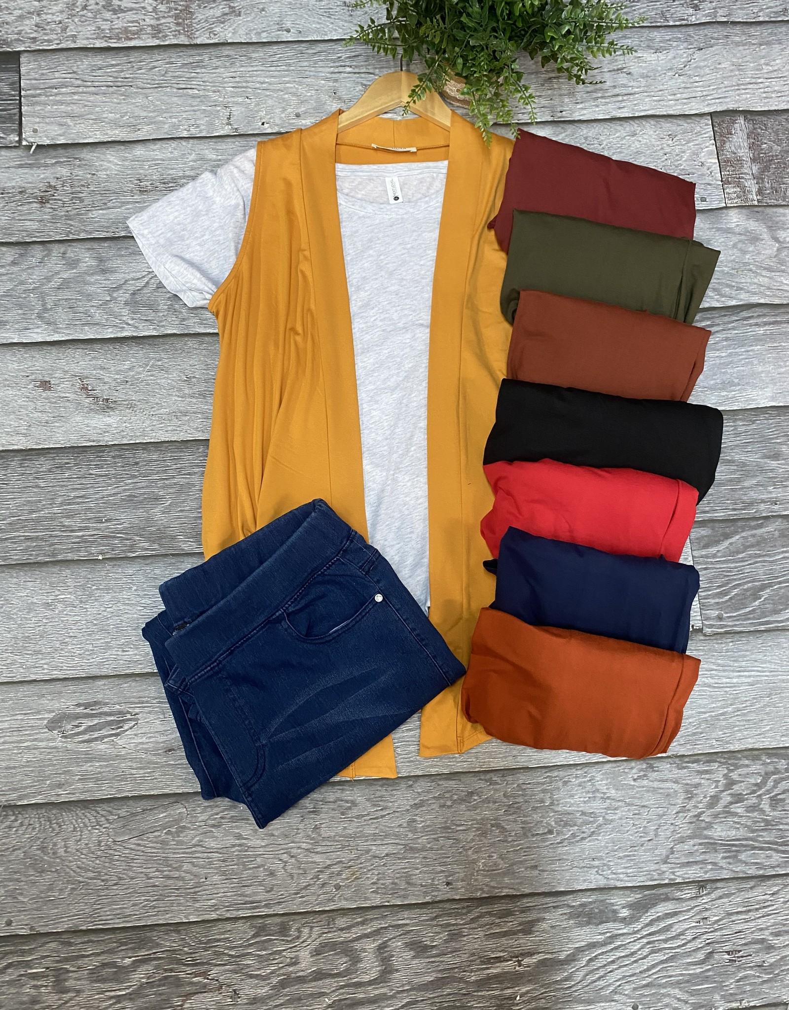 SASS Boutique Exclusive Solid Vest