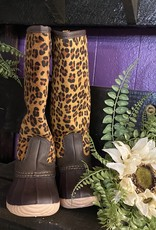 SASS Boutique Exclusive Kids Leopard Rainboots