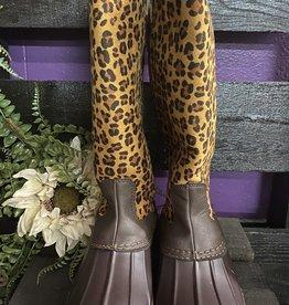 SASS Boutique Exclusive Leopard Rainboots