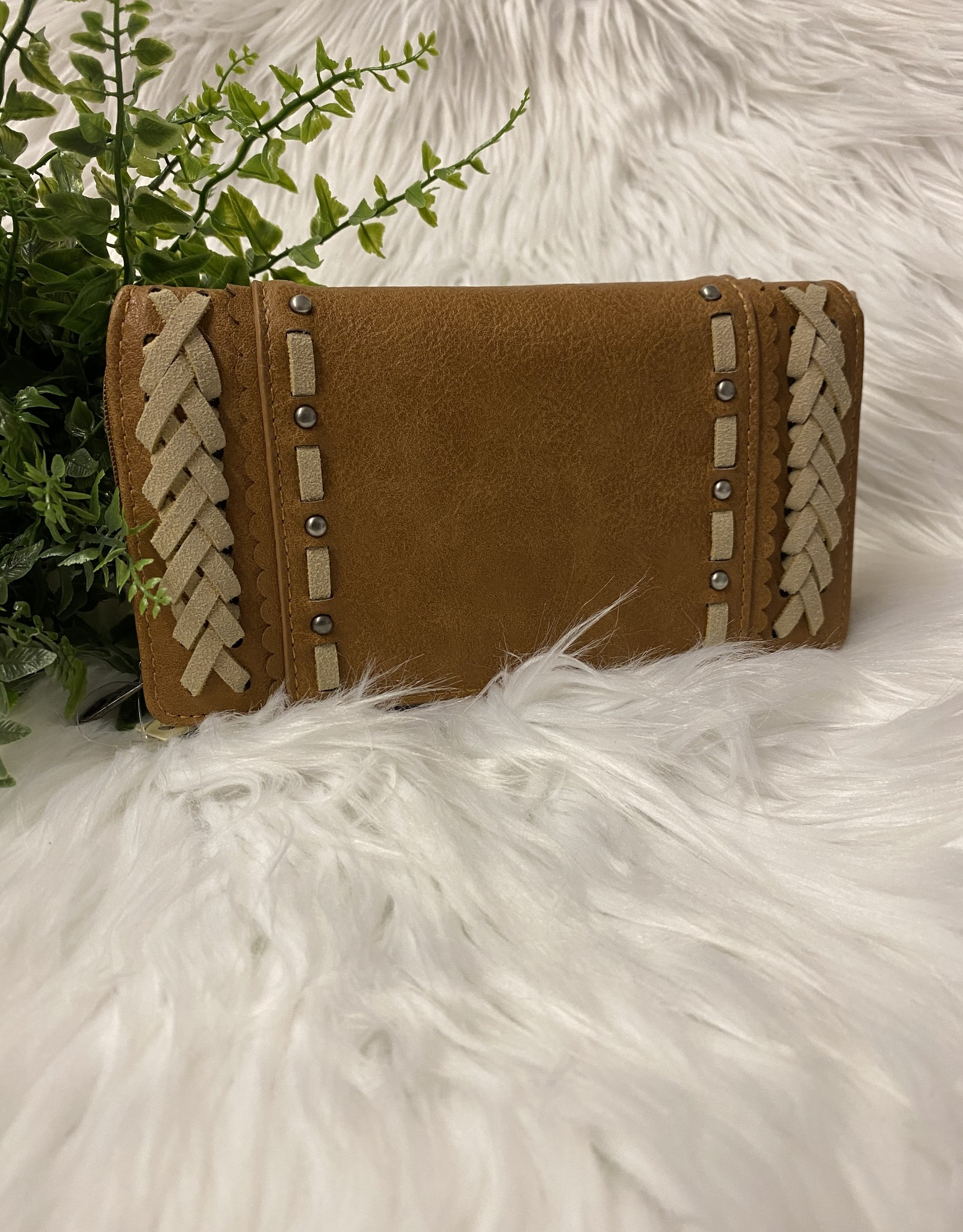 SASS Boutique Exclusive Brown Wallet