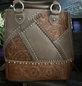 SASS Boutique Exclusive Coffee Trinity Ranch Conceal Backpack