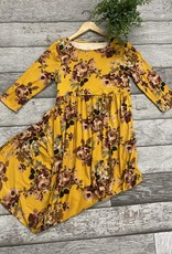 SASS Boutique Exclusive Mustard Floral Maxi