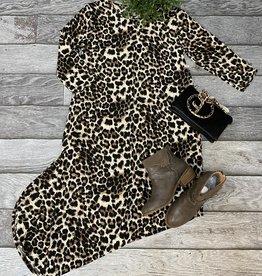 SASS Boutique Exclusive Animal Print Maxi Dress