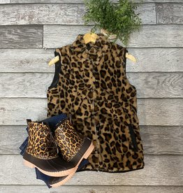 SASS Boutique Exclusive Animal Print Vest