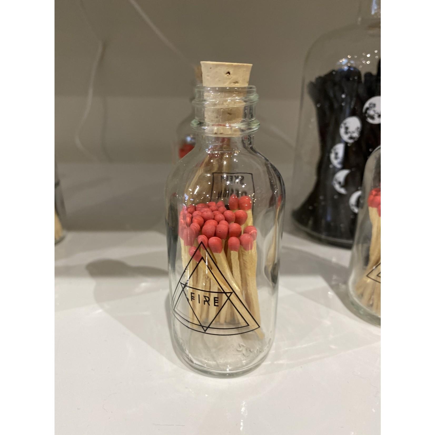Skeem Small fire  Bottle w/wooden matches