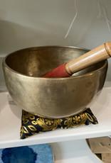"""Tibetan Brass singing bowl 7.5"""""""