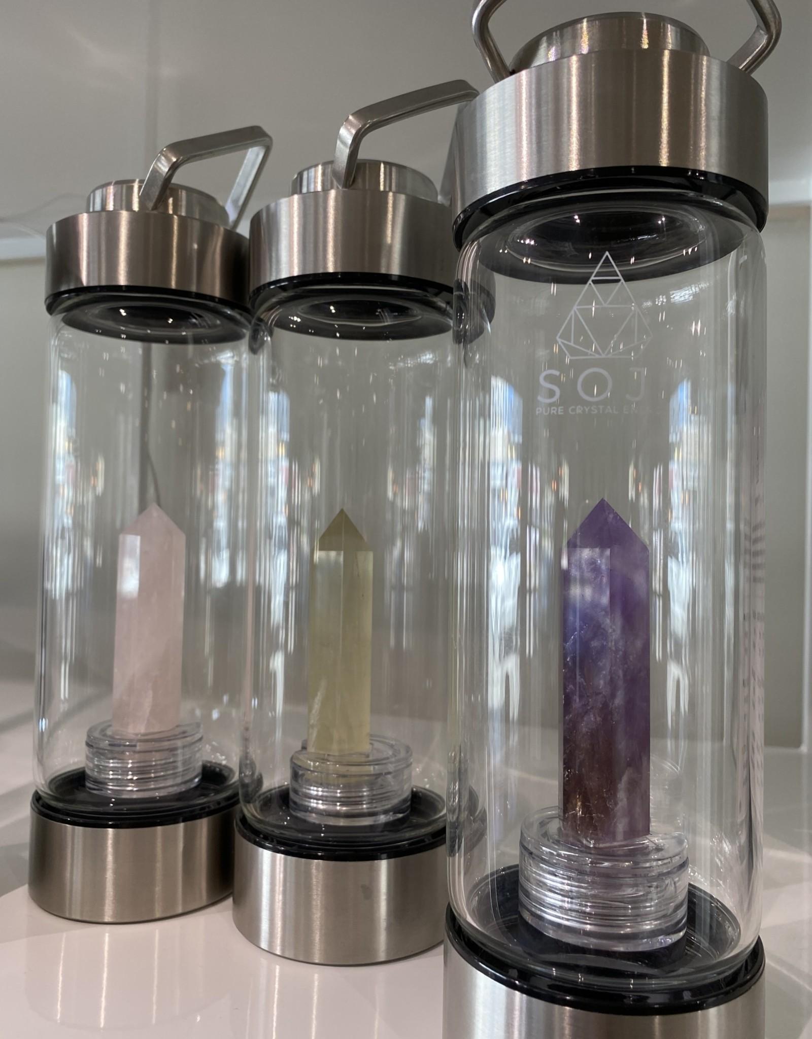 Soji Crystal Infused Water Bottle
