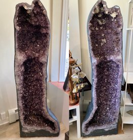 "Brazil Amethyst Pair (68.5"" Tall)"