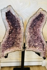 "The Rock Box Amethyst Butterfly Wings (65"" x 42"")"
