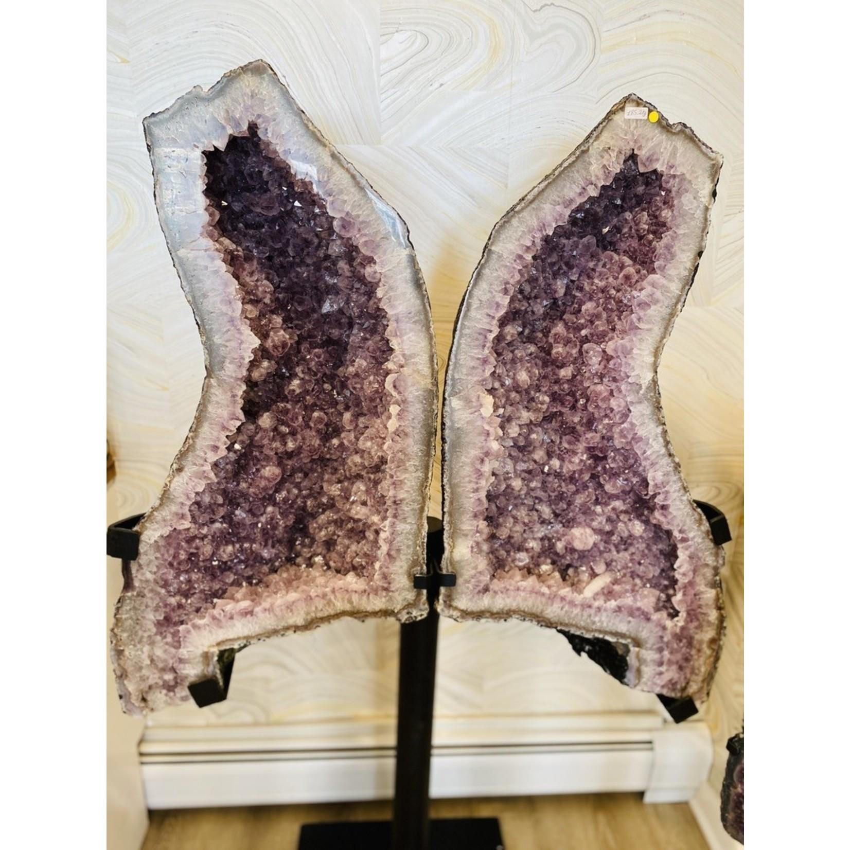 """Amethyst Butterfly Wings (65"""" x 42"""")"""