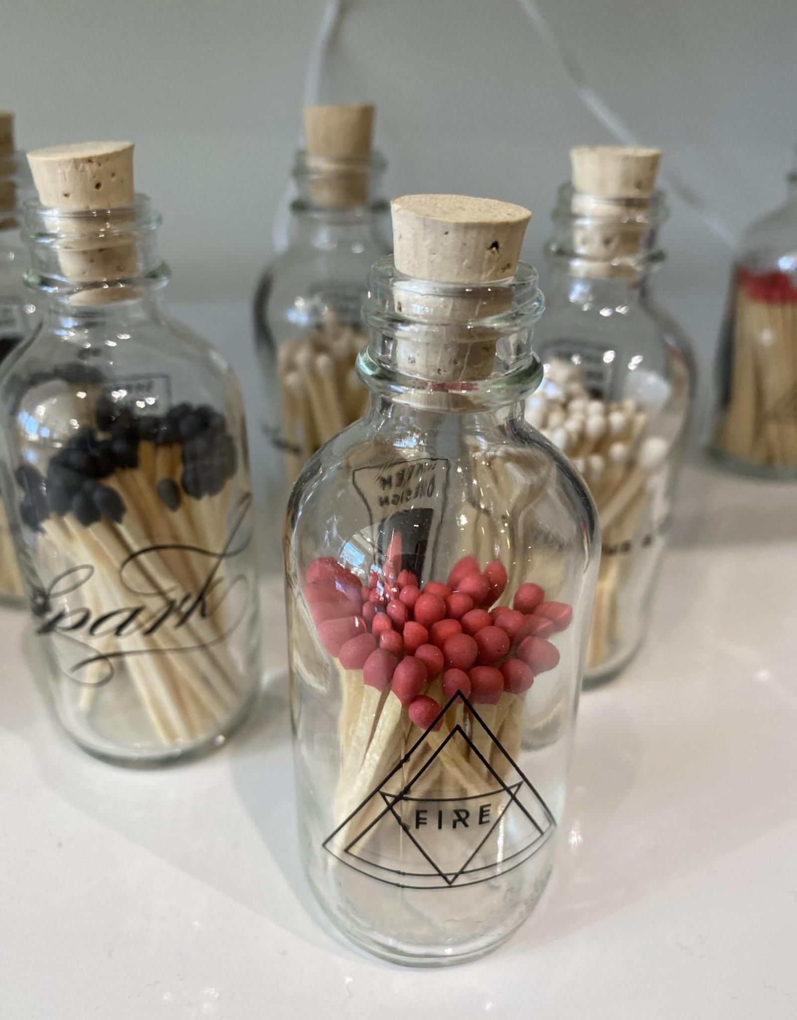 Skeem Mini Alchemy Bottle w/wooden matches