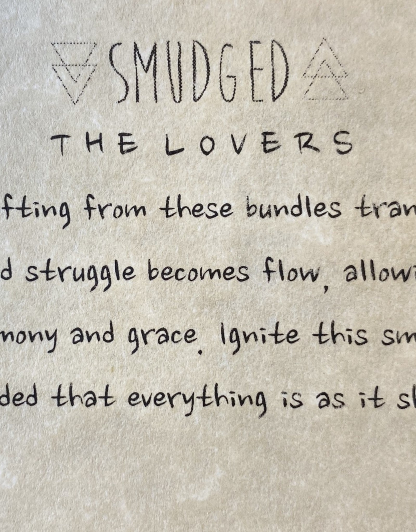 Smudged LOVERS SMUDGE