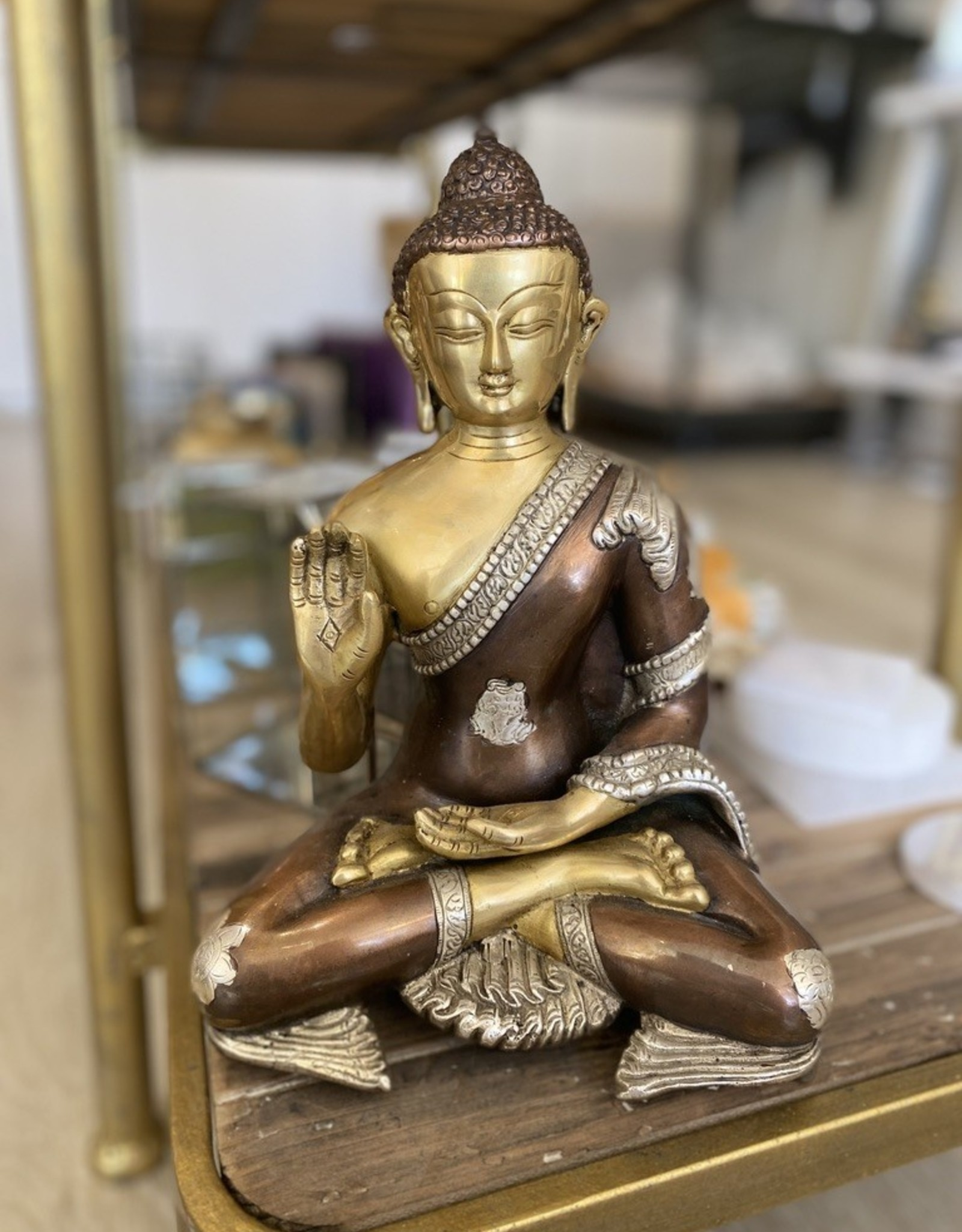 "The Rock Box Buddha 11"" India"