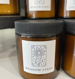 Herland Home Meadow Stars Botanical Candle