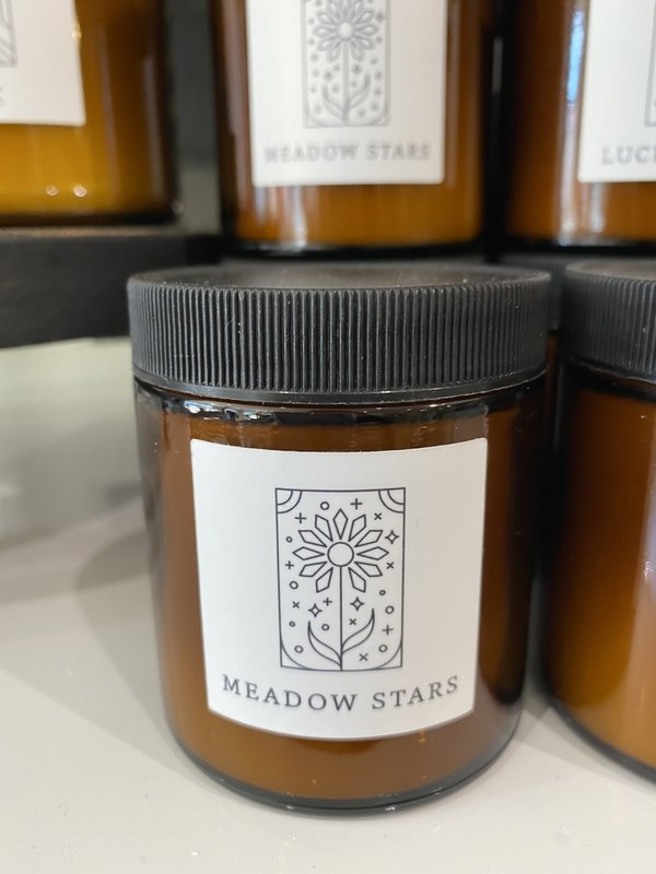 Meadow Stars Botanical Candle