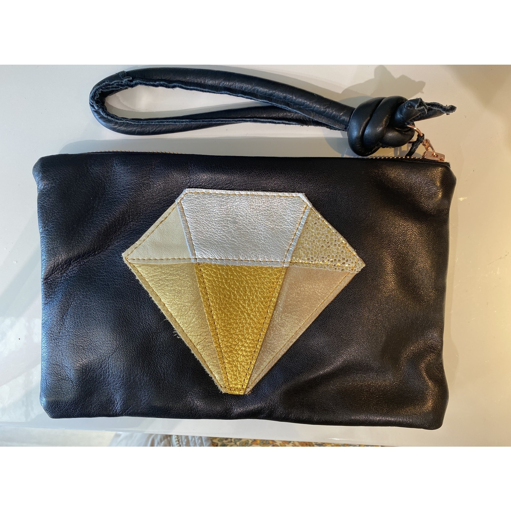Abundance Leather Clutch & Pouch