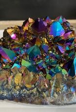 Spectacular Titanium Aura Cluster