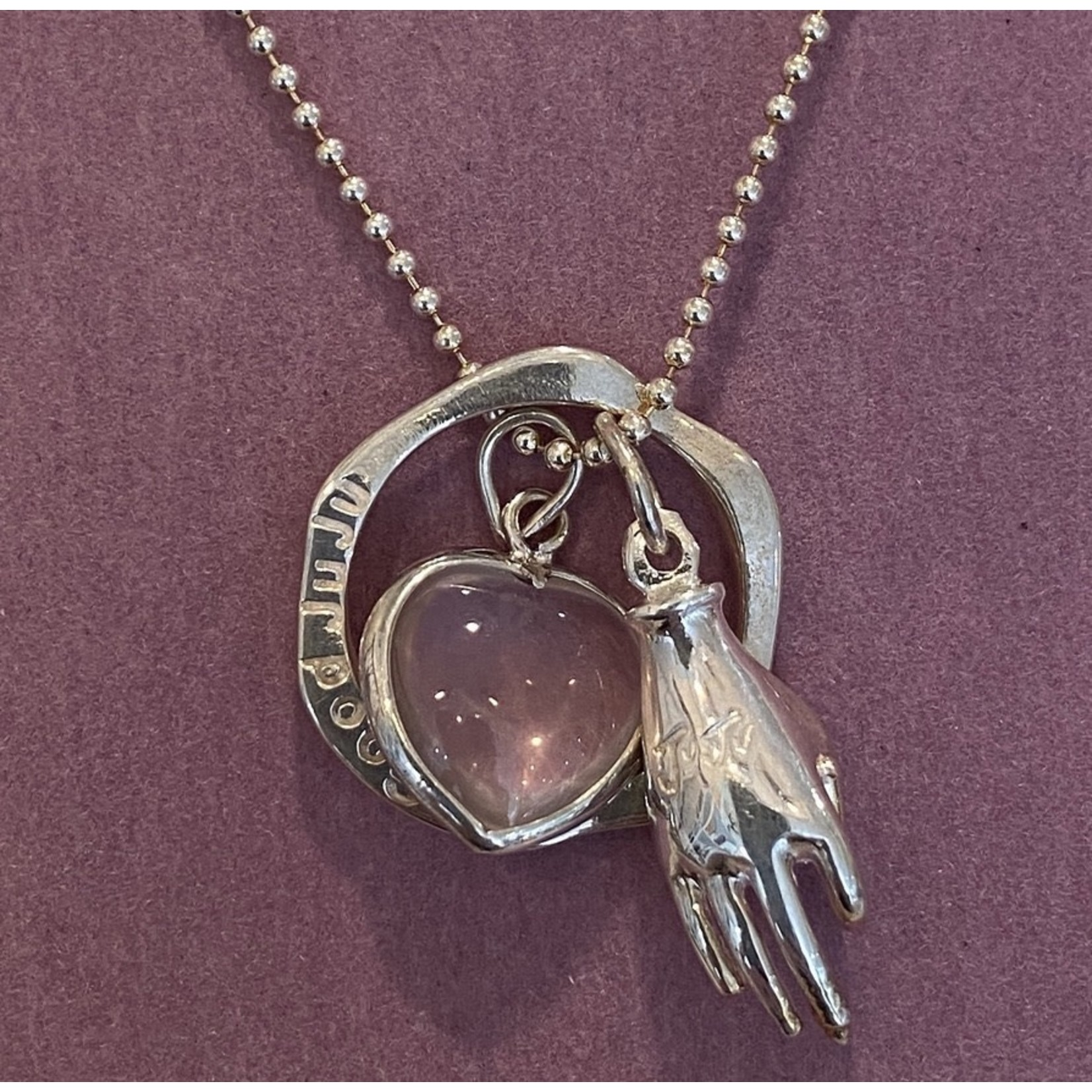 Love Thyself Necklace Silver