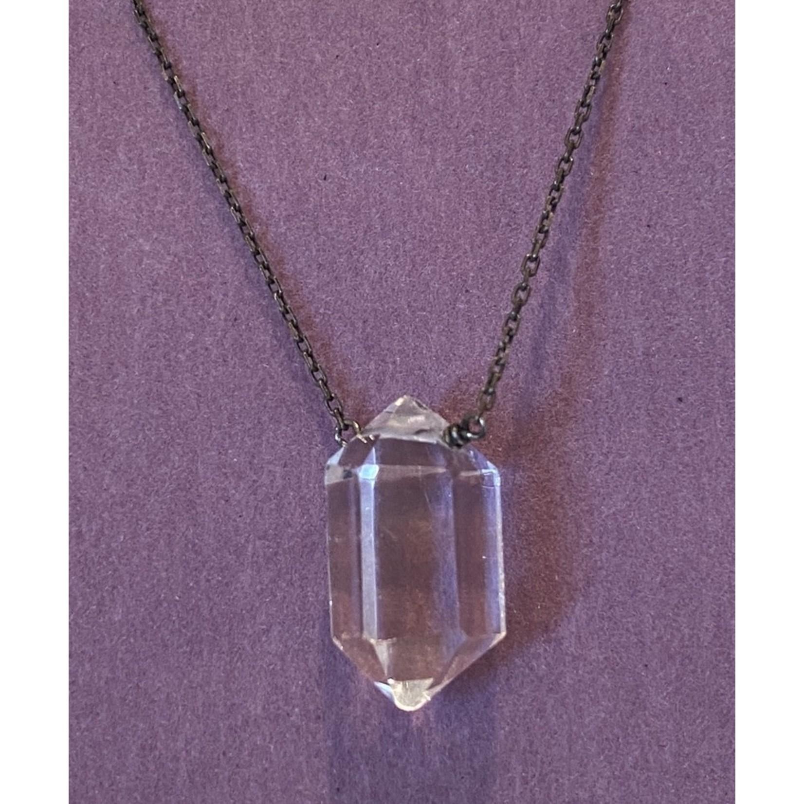 Quartz Crystal Amulet