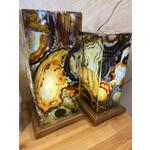 Custom made Agate Lamp Lg
