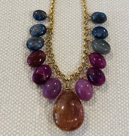 Mixed Stone Good Karma Neck