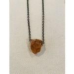 Hessonite Garnet Amulet