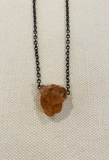 Hessonite Garnet Amulet