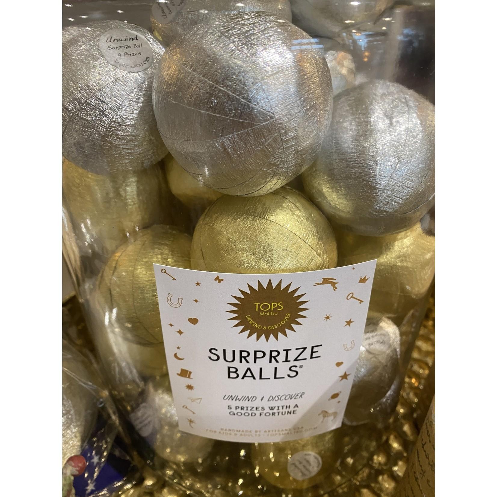 Surprize Balls gold/silver