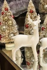Deer Lg 4x6 white gold nose