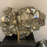 Cubic Pyrite Cluster