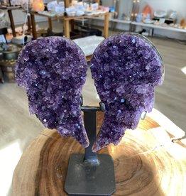 Amethyst Wings Tabletop #6