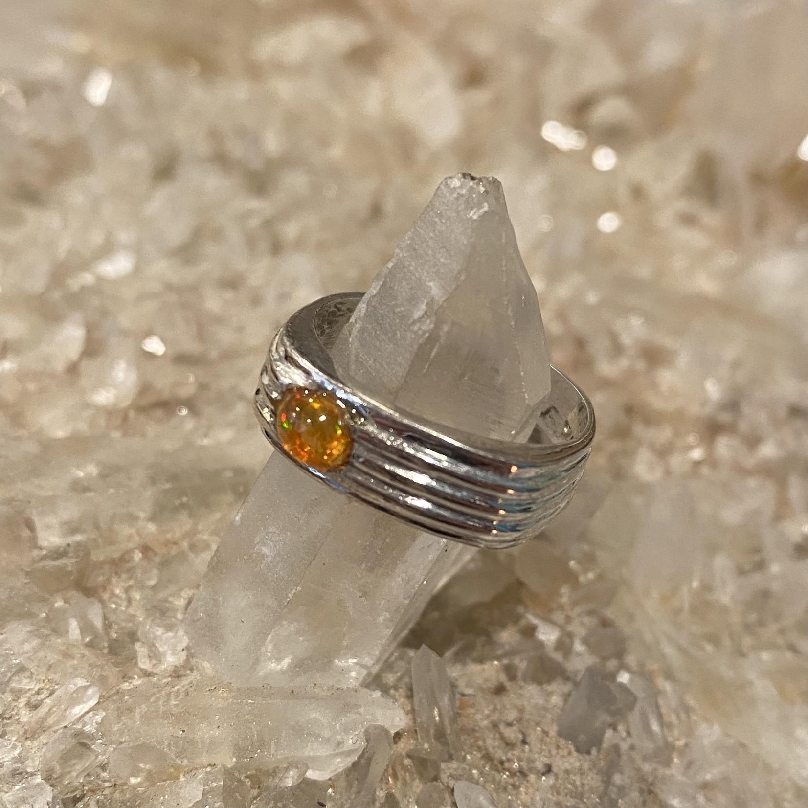 Fire Opal Ring #4