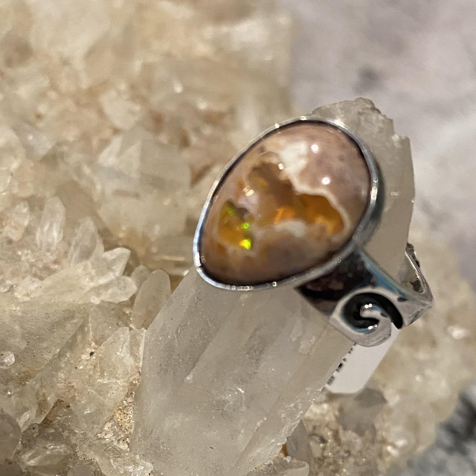 Fire Opal Ring #1