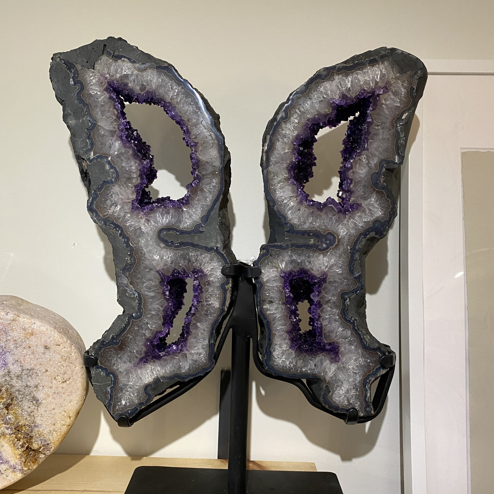 Amethyst Wings double window