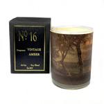 Vinatage Amber Candle No 16