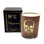 No 17 Gold Skull Frankincense Candle