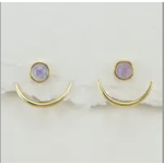 Healing Crescent Earrings