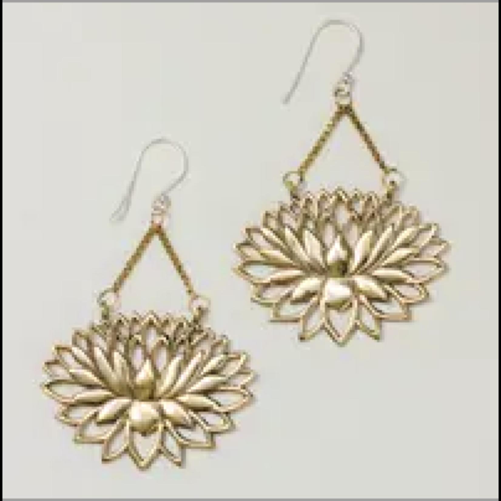 Eternal Lotus Earrings