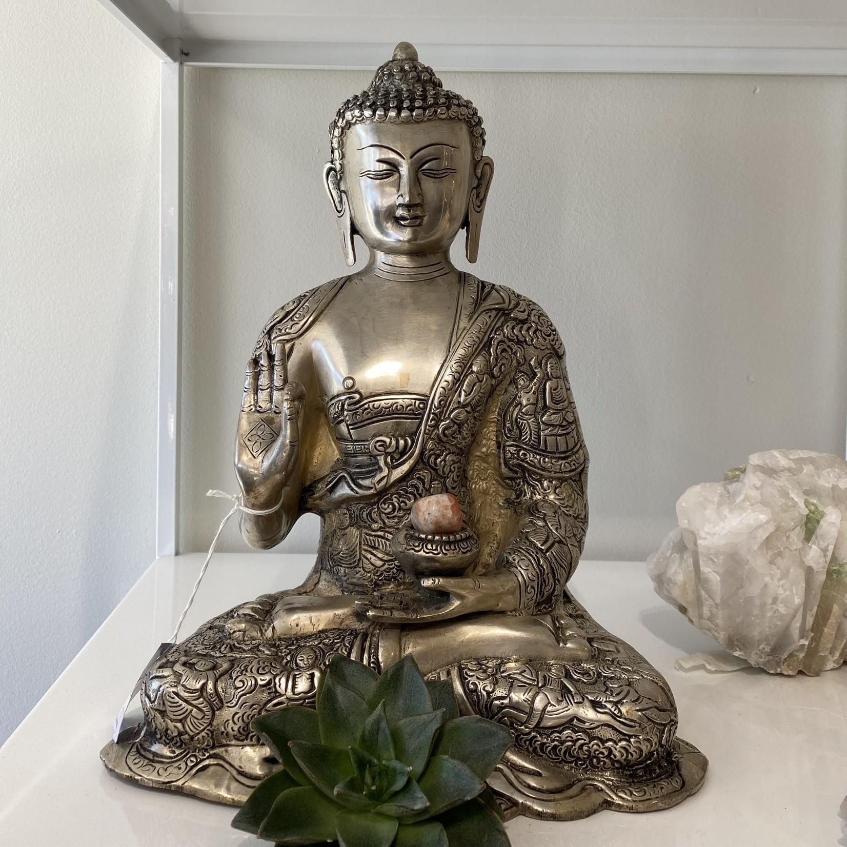 Silver Protection Buddha
