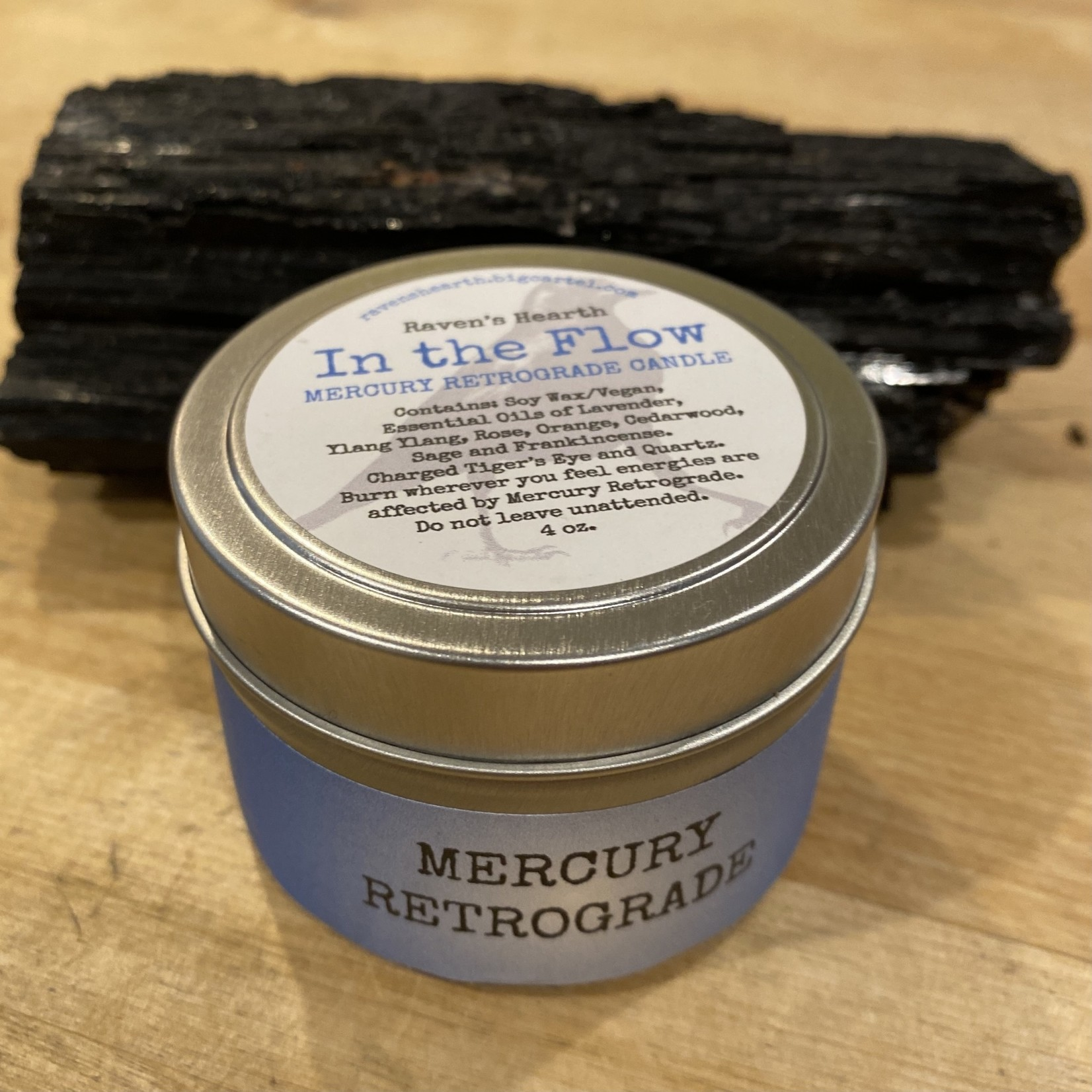 Mercury Retrograde Candle