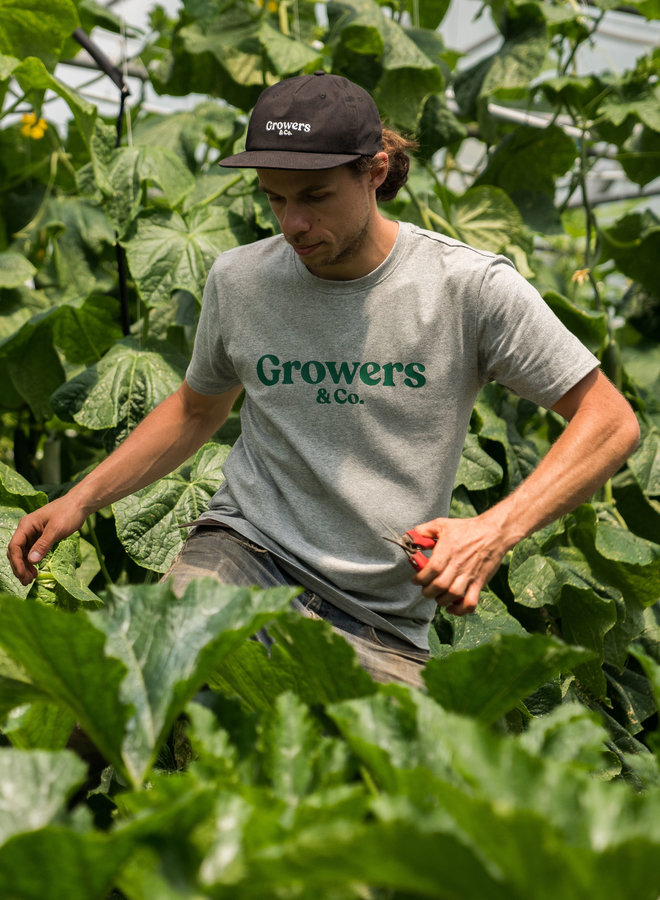 Growers Mission T-Shirt Heather Grey Men