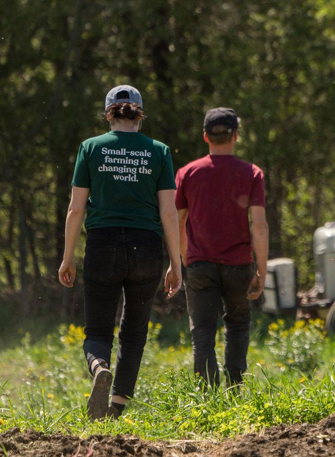 T-Shirt Mission Growers Vert Verdant Femme