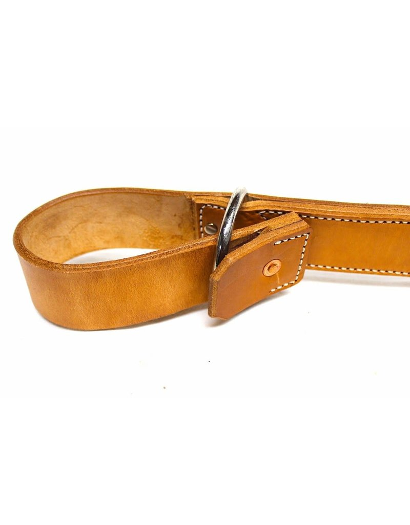 """1.5"""" Quick Nickel  Release Double Leather Horse Hobble Western"""