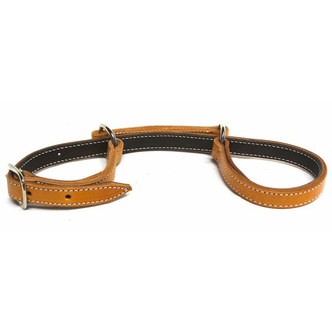 """1"""" Flat Doubled Leather Hobbles Riding Horse Hobbles Western"""