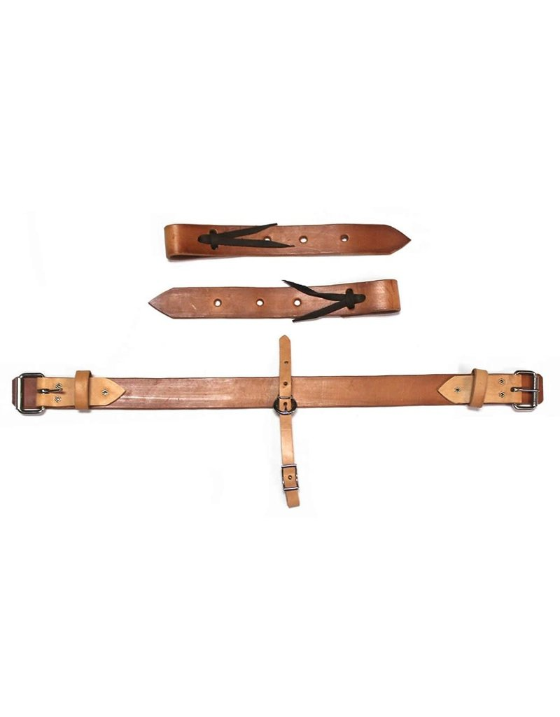 USA Pony Western Leather Rear Flank Back Cinch Girth Pony Saddle BILLETS