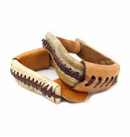 Rawhide Leather  Kids Pony Western Stirrups