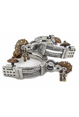 Charro Espuelas Finas Acero Inoxidable Stainless Steel Charro Spurs