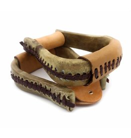 Rawhide Bell Bottom Western Stirrups
