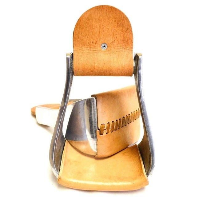 "4"" Aluminum Bell Roper Overshoe Western Stirrups"